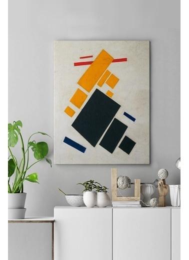 MarkaEv Canvas Modern Tablo 0190 Renkli